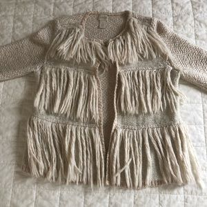Chico's - W's Bohemian Knit Cardigan // CREAM